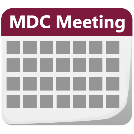 Calendar MDC Meeting